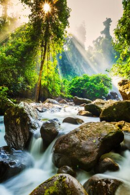 Plakát Tropické vodopád
