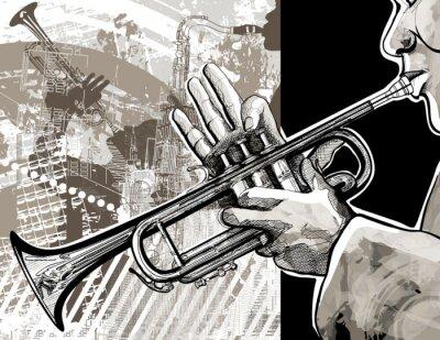 Plakát Trumpetista