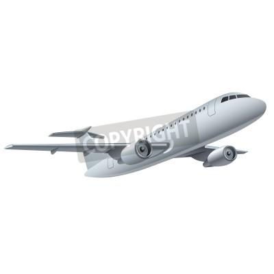 Plakát tryskové letadlo