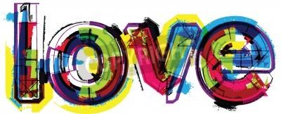 Plakát Umělecké slovo láska