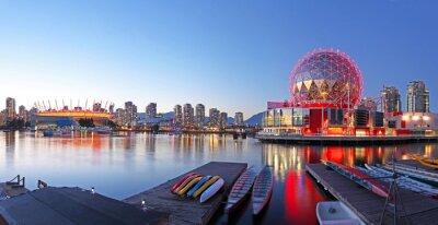 Plakát Vancouver v Kanadě