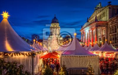 Plakát Vánoční trh Berlin