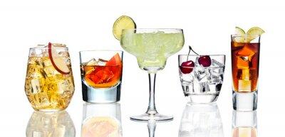 Plakát Various cocktails.