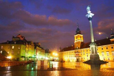 Plakát Varšava