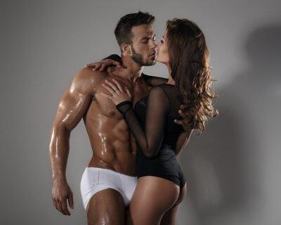 Plakát Vášeň žena a muž