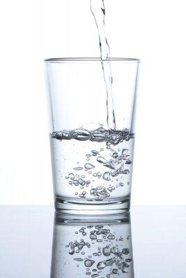 Plakát Vaso con agua