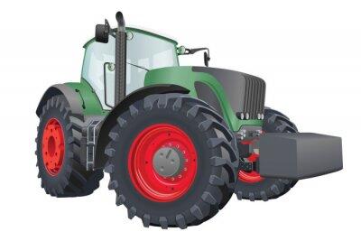 Plakát Vector traktor