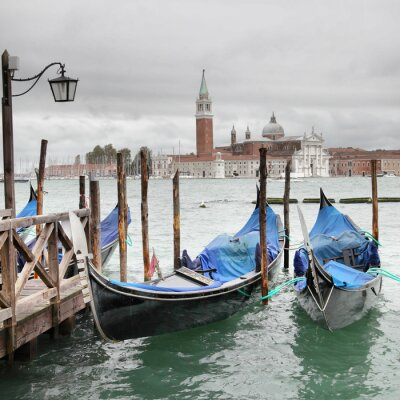 Plakát Venice na zatažený den