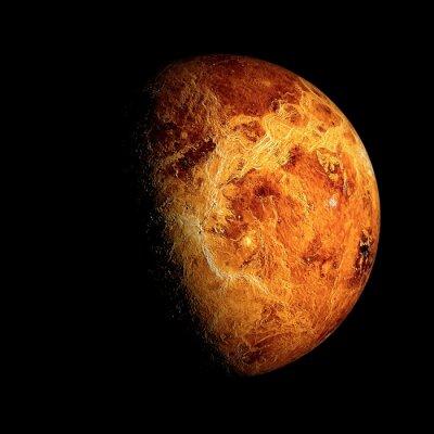 Plakát Venus Prvky tohoto obrázku zařízeného NASA