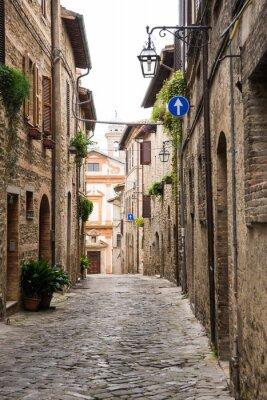 Plakát Vicolo romantico v Itálii