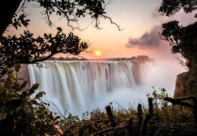 Plakát Victoria Falls