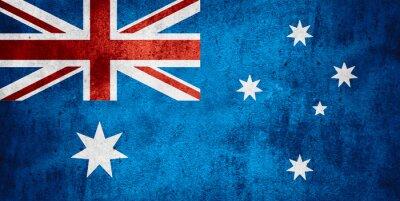 Plakát vlajka Austrálie