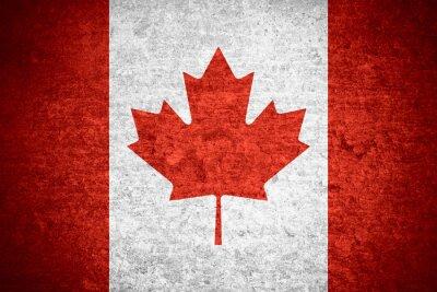 Plakát vlajka Kanady
