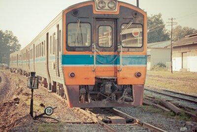 Plakát Vlak Vintage