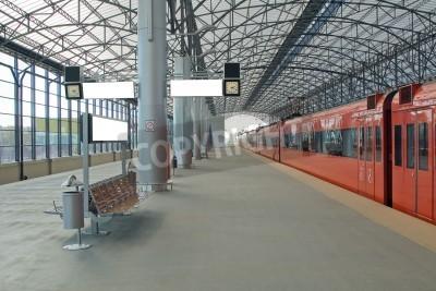 Plakát Vlakové nádraží Šeremetěvo, Moscom, Russia