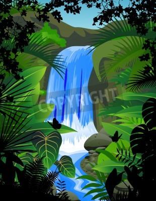 Plakát Vodopád
