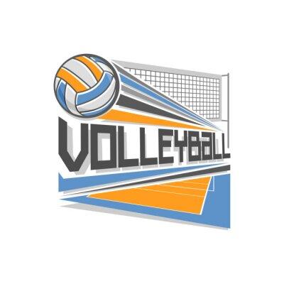 Plakát Volejbal logo