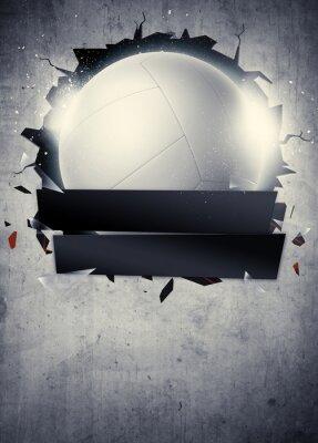 Plakát Volejbal pozadí