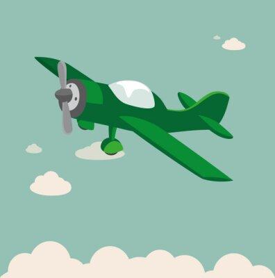 Plakát Vrtulová letadla Sklad