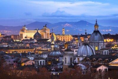 Plakát Vue des toits de Rome