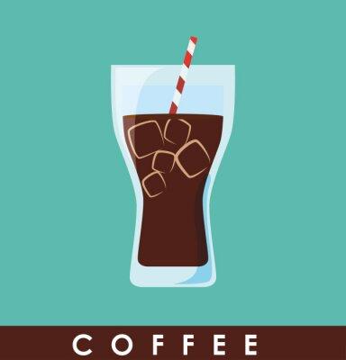 Plakát výprava ikonu Coffe