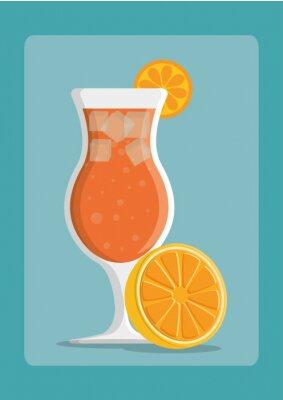 Plakát výprava ikonu nápoje
