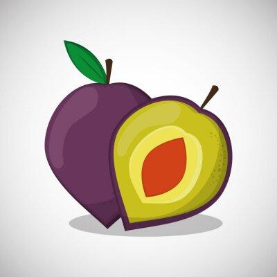 Plakát výprava ikonu ovoce