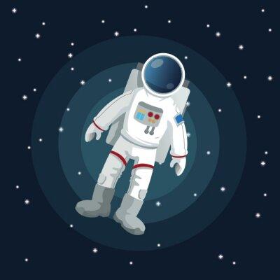 Plakát výprava ikonu vesmírných