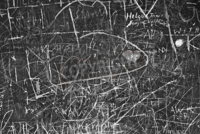 Plakát Wall Graffiti jako symbol městské komunikace