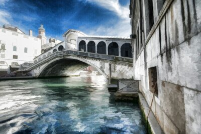 Plakát Wenecja obraz