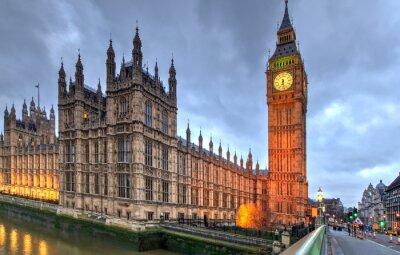 Plakát Westminster Big Ben
