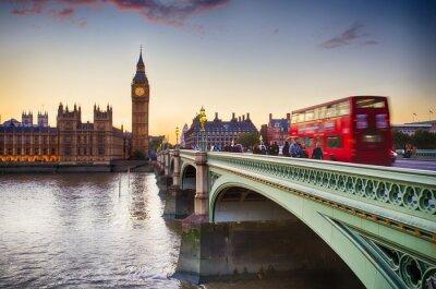 Plakát Westminster Bridge