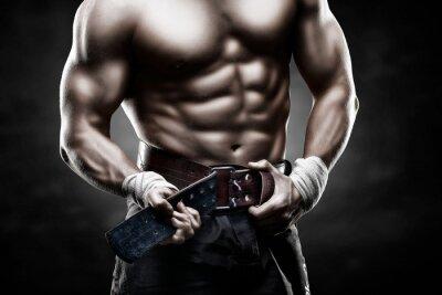 Plakát красивое мужское тело
