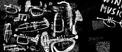 Plakát Духовые музыкальные инструменты