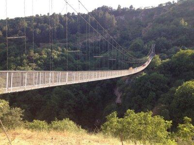 Plakát Подвесной мост