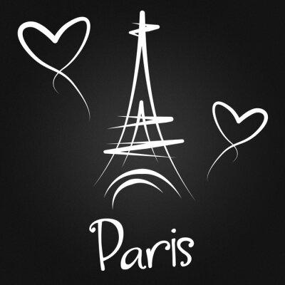 Plakát Z Paříže s láskou