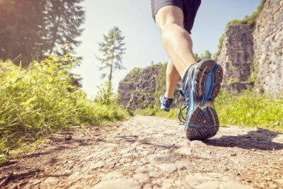Plakát Zdravé stezka běh