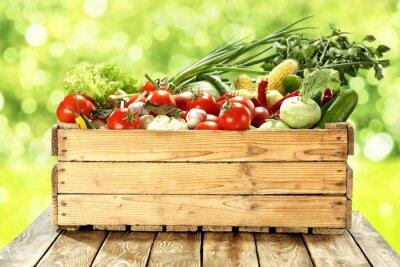 Plakát zelenina