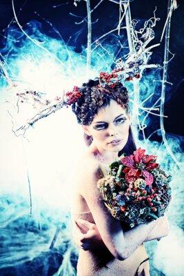 Plakát zimní kytice