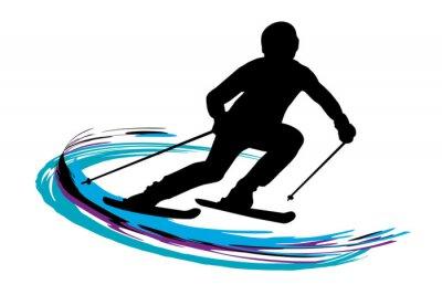 Plakát Zimní sporty - 14