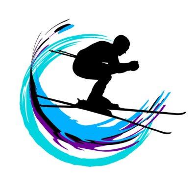 Plakát Zimní sporty - 4